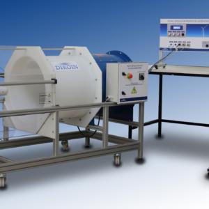 Equipo didáctico de laboratorio banco de ensayo de aerogeneradores
