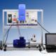 Equipo didáctico entrenador de microgeneración eólica con conexión a red