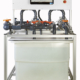 Laboratory teaching equipment Series/Parallel Pumps computer controlled