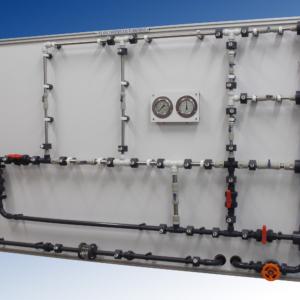Equipo didáctico laboratorio redes de tuberías