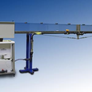 Canal hidrodinámico para banco hidráulico