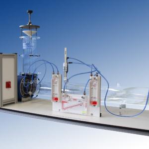 Equipo didáctico ventilador centrífugo