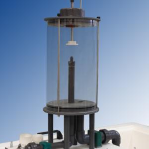 Laboratoy teaching equipment impact of a jet