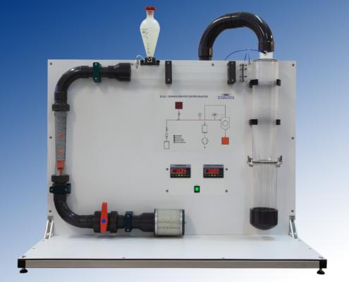 Equipo didáctico laboratorio separación por centrifugación