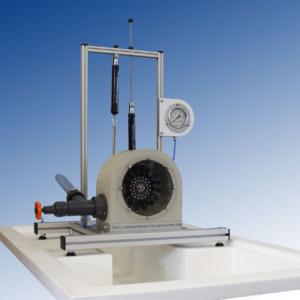 Equipo didáctico laboratorio turbina Pelton