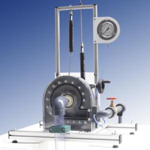 Turbina Francis - Freno fricción