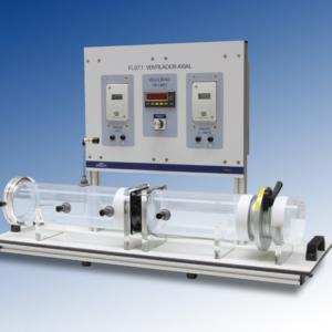 Equipo didáctico de ventilador axial